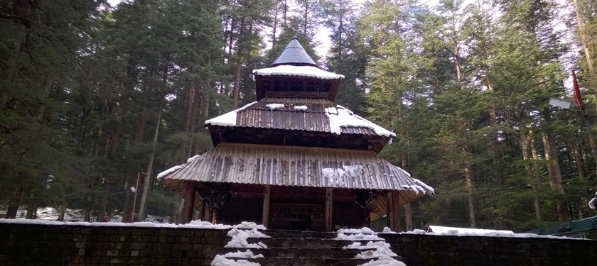 Hadimba Temple , Top Attraction In Manali